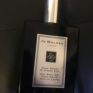 Jo Malone Dark Amber & Ginger Lily Body Oil
